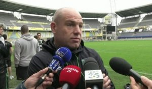 RUGBY - CE - ASM - Cockerill : «Difficile mais pas impossible»