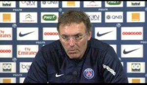 FOOT - L1 - PSG - Blanc : «Un week end important, pas décisif»