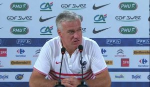 FOOT - CM - BLEUS - Deschamps : «Une marge de progression»