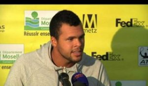 TENNIS - ATP - Metz - Tsonga : «Quelque chose de plus performant»