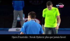 Novak Djokovic grand favori de l'Open d'Australie