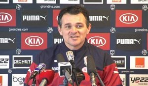 Point Presse - Willy Sagnol - Evian vs Bordeaux