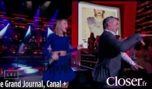 Antoine de Caunes et Taylor Swift dansent sur le plateau du Grand Journal