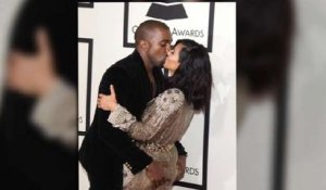 Kim And Kanye's Hot Grammy's PDA