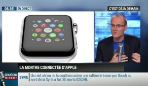 La chronique d'Anthony Morel : L'Apple Watch, la montre connectée d'Apple - 09/03