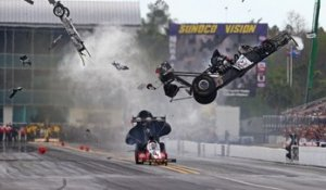 Dragster: l'incroyable accident de Larry Dixon