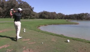 Golf - EPGA : le swing de Saddier