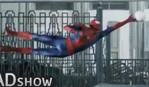 PARODY : The Amazing Spiderman's football skills!