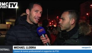 Football / OM-PSG : Michaël Llodra, un supporter comblé - 05/04