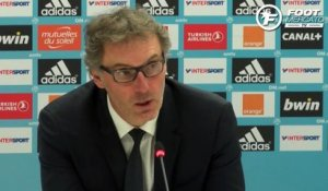 OM-PSG : la réaction de Laurent Blanc