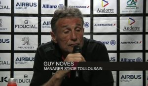 Rugby - Top 14 - Toulouse : Novès «On avait trop envie de bien faire»