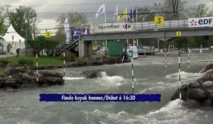 Course n°2 Pau 2015 Demi-Finale et Finale Kayak Homme (Replay)