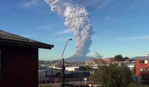 Chili : nouvelle éruption du volcan Calbuco