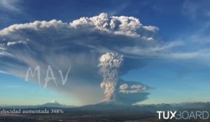 Eruption du volcan Calbuco (Chili)