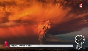 Chili : réveil surprise du volcan Calbuco