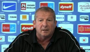 Foot - L1 - MHSC : Courbis «Qui peut-on doubler?»