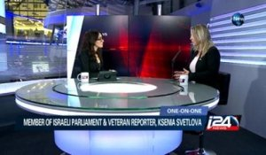 Interview with Ksenia Svetlova 29/03/2015