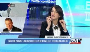 Can the Zionist union beat the incumbent likud party?