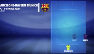 Barcelone - Bayern Munich : Les compos probables