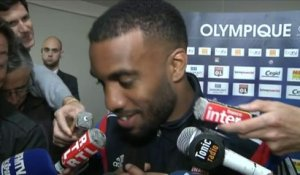 Foot - L1 - OL : Lacazette «Merci aux supporters»
