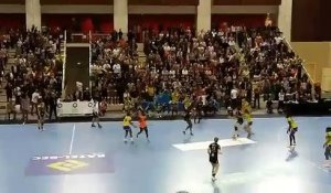 Le but de la qualification sur le buzzer de Doungou Camara (LFH - Issy Paris)