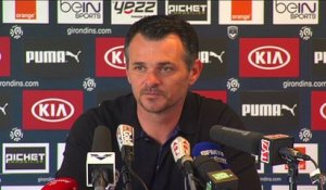 Point Presse - Willy Sagnol - Bordeaux vs Montpellier