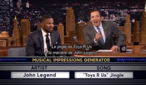 Tonight Show / Wheel of Musical Impressions avec Jamie Foxx et Jimmy Fallon - Emission du 20 mai sur MCM !
