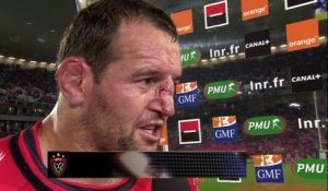 TOP 14 - Toulon - Paris: interview Carl Hayman (TLN) - Demi-finale -2014-2015