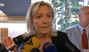 Marine Le Pen : Valls à Berlin, cette «gigantesque bourde»