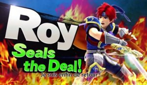 Super Smash Bros. - Roy est de retour