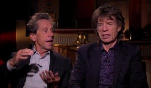 Brian Grazer and Mick Jagger Chat About Making 'Get On Up' Together