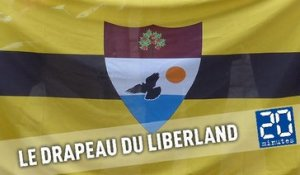 Description du drapeau du Liberland