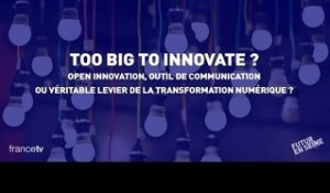 Too Big to Innovate (3) : Open innovation (Futur En Seine 2015)