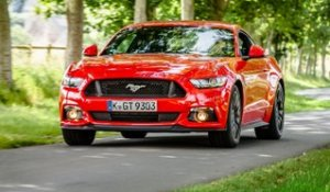Balade normande pour la Ford Mustang