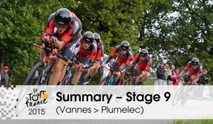 Summary - Stage 9 (Vannes > Plumelec) - Tour de France 2015