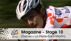 Magazine - 40th Anniversary of the Polka-Dot Jersey - Stage 10 (Tarbes > La Pierre-Saint-Martin) - Tour de France 2015