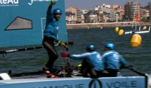 Voile - Tour de France : Combiwest s'impose aux Sables d'Olonne