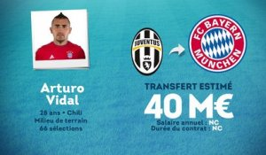 Officiel : Arturo Vidal rejoint le Bayern Munich !
