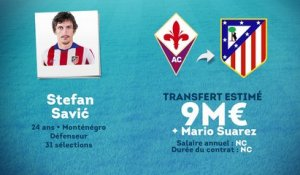 Officiel : Savic file à l'Atlético Madrid !