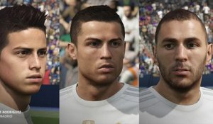 FIFA 16 : les visages du Real Madrid