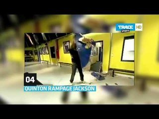 How To Destruct A Door With Quinton Rampage Jackson Sur Orange Videos
