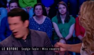 Quand Thomas Thouroude se prenait une gifle par Sophie Tapie - ZAPPING PEOPLE BEST-OF DU 04/08/2015