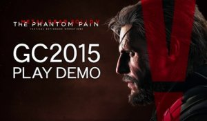 Metal Gear Solid V : The Phantom Pain - GamesCom 2015 Gameplay Trailer (VOST) [HD]