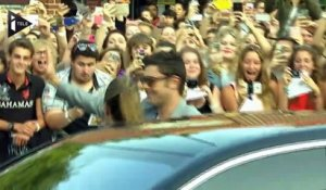 "En promo pour ""We Are Your Friends"", Zac Efron séduit Lomme"