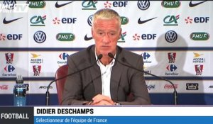 "Equipe de France - Deschamps : ""Sakho a une situation sportive difficile"""