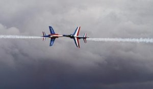 VIDEO. Avec la Patrouille de France avant le grand meeting