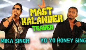 Damaa Dam Mast Kalandar | Full Song with Lyrics - Yo Yo Honey Singh - Welcome Back [2015]