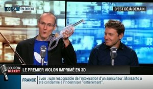 La chronique d'Anthony Morel : 3Dvarius, le premier violon imprimé en 3D - 11/09