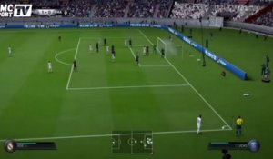 FIFA 16 – PSG-Real Madrid : Ronaldo rate l'immanquable