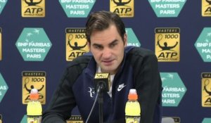 Tennis - ATP - Paris : Federer «Beaucoup de plaisir»